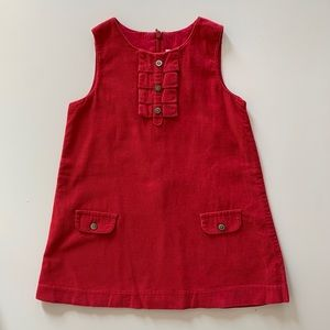 Soft red Jacadi corduroy jumper